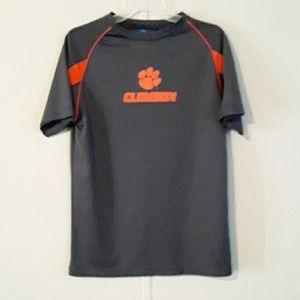Clemson mens dry fit shirt